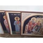 Icoane bizantine imprimate pe autocolant