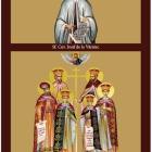 Icoane bizantine colaj 365 zile tiparite pe carton
