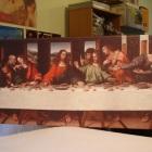 Icoana bizantina pe panza canvas