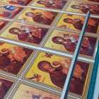 Icoane litografie printate pe  coala hartie