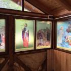 Print autocolant vitralii geam Albesti