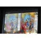 Lucrari de vitralii  lpe geam cu una si doua treceri