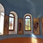 Lucrari de vitralii  la Casva , Mures