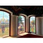 Lucrari de vitralii  pe geam in Gorj