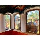 Lucrari decor vitrali geam in Gorj