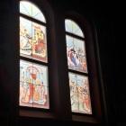 Lucrari decor vitrali geam la Ludus, Mures