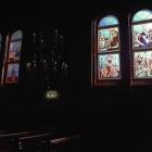 Lucrari de vitralii  la Ludus, Mures