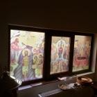 Lucrari de vitralii   paraclis in Buzau