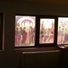 Lucrari decor vitrali geam paraclis in Buzau