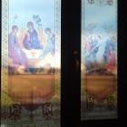 Lucrari decor vitrali geam la Sanandrei