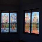 Lucrari de vitralii  la  capela din Tarnova Arad