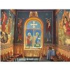 Folie vitrali geam la capela colegiuTurda, Cluj