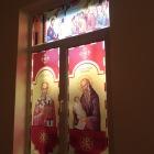 Lucrari decor vitrali geam la capela liceu Turda, Cluj
