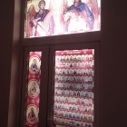 Lucrari decor vitrali geam la Turda, Cluj
