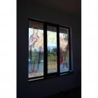 Decor vitraliu geam