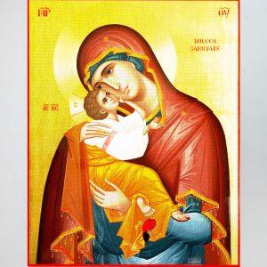 Maica Domnului cu Pruncul - material canvas