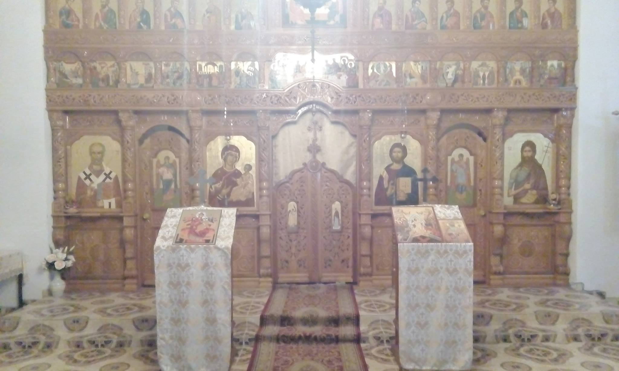 Iconostas Biserica Ortodoxa Loamnes, jud Sibiu
